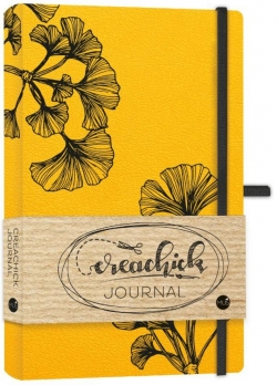Creachick - Journal (okergeel)