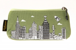 Eco-friendly/vegan etui (groen)