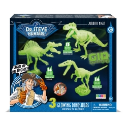 Jurassic Night - Glowing Dinosaurs (3-in-1)