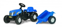 Kid NH T7040 + trailer