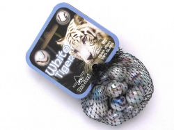 Knikkers white tiger 20/1