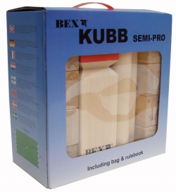 Kubb Semi-Pro Basic (6 sticks)