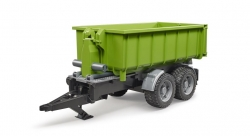 Roll-off containertrailer voor tractoren