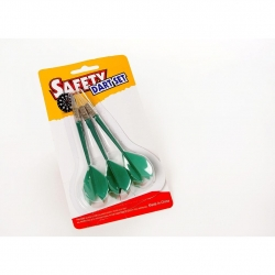 Safety darts groen (3 st.)