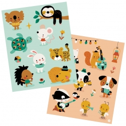 Stickers - Little mouse and friends