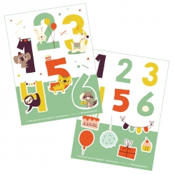 Stickers - Numbers