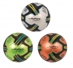 Voetbal metallic (3 ass.)