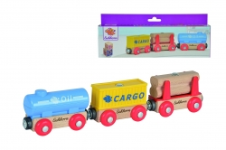 Wagons met containers (5-delig)