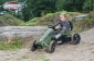 Rally Jeep Adventure pedal go-kart